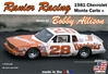 "Ranier Racing Bobby Allison 1981 ""Hardee's"" Chevrolet ""Flat Nose"" Monte Carlo # 28 (1/24) (fs) Damaged Box"