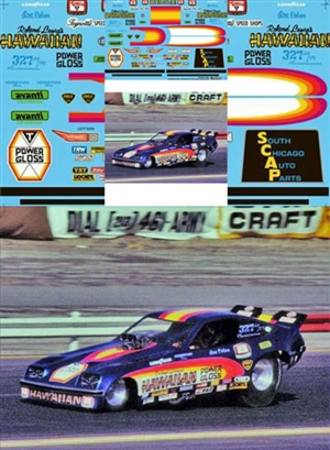 "Roland Leong's Power Gloss Hawaiian Monza Funny Car (1/25) <br><span style=""color: rgb(255, 0, 0);"">(1 of 250 Limited Reissue)</span>"
