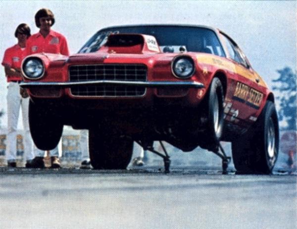 Barry Setzer 71 72 73 Camaro Vega Pro Stock Or Funny Car Decal 1 25