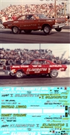 Dyno Don Nicholson's '65 Super Stock Comet, '66 Eliminator I F/C & '67 Eliminator II F/C Decal (1/25)