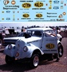 Ohio George Montgomery's 1933 Willys Gasser Decal (1/25)