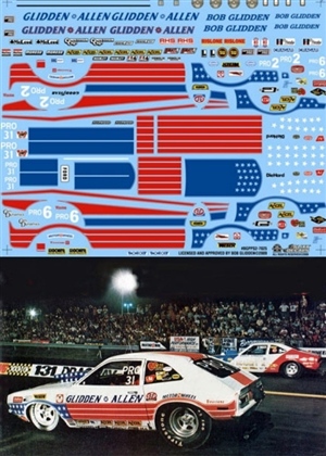 "Bob Glidden's Stars & Stripes Pinto Pro Stock (1/25) <br><span style=""color: rgb(255, 0, 0);"">(1 of 250 Limited Reissue)</span>"