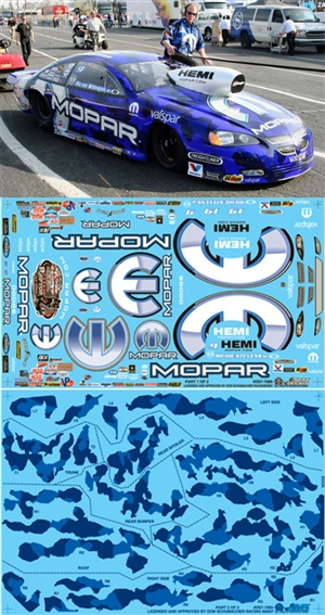 "2006-07 Richie Steven's Mopar Stratus Pro Stock (1/25) Slixx-Decal <br><span style=""color: rgb(255, 0, 0);"">Just Arrived</span>"