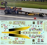 "2007 Army Top Fuel Dragster Slixx Decals (1/25) <br><span style=""color: rgb(255, 0, 0);""> Just Arrived</span>"