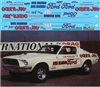 Dyno Don Nicholson's '68 Cobra Jet Mustang Decal (1/25)