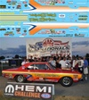 Jim Daniels 1968 Hemi Dart sponsored by Ray Barton Racing Engines Decal (1/25)