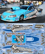 "2010 Rodger Brogdon Pistonator GXP Pro Stock (1/25) Slixx-Decal <br><span style=""color: rgb(255, 0, 0);"">Just Arrived</span>"