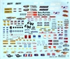 Drag Racing Goody Sheet Decal (1/16)