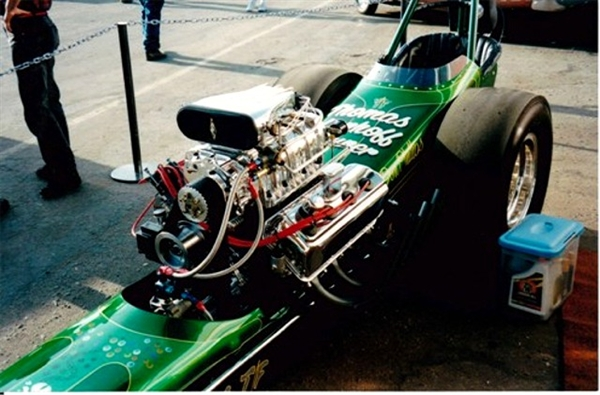 Tom Trasin S Quot Jade Grenade Quot Front Engine Dragster 1 25