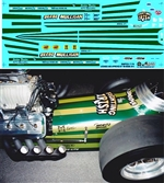 Beebe & Mulligan Front Engine Dragster (1/25) Slixx-Decal
