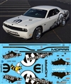 Mopar V10 Drag Pak Challenger Graphics Yellow Jacket  (1/25)
