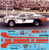 Don Grotheer's '68 Super Stock Hemi Cuda Decal (1/25)