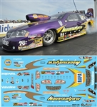 2013 2014 Mountain View Napa Avenger Pro Stock Decal (1/25)