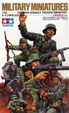 German Assault Troops Infantry Set Military Miniatures (1/35) (fs)