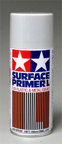 Tamiya Spray Surface Primer Gray 6 oz