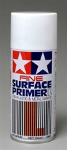 Tamiya Spray Surface Primer White 6 oz