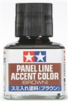 Tamiya Brown Panel Line Accent Color or Wash (40 ml)