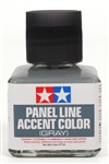 Tamiya Gray Panel Line Accent Color or Wash (40 ml)