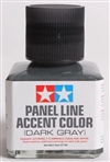 Tamiya Dark Gray Panel Line Accent Color or Wash (40 ml)