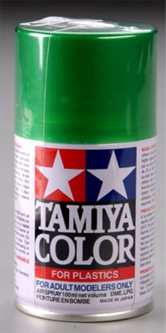 Tamiya Metallic Green Lacquer Spray