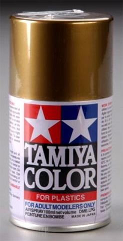 Tamiya Metallic Gold Lacquer Spray