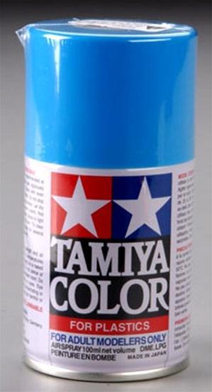 Tamiya Light Blue Lacquer Spray