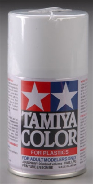 "Tamiya Matte ""Flat"" White Spray (3 oz)"