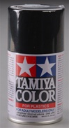 "Tamiya Semi Gloss Black Lacquer Spray<br><span style=""color: rgb(255, 0, 0);"">Back in Stock</span>"