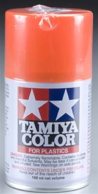Tamiya Bright Orange Lacquer Spray