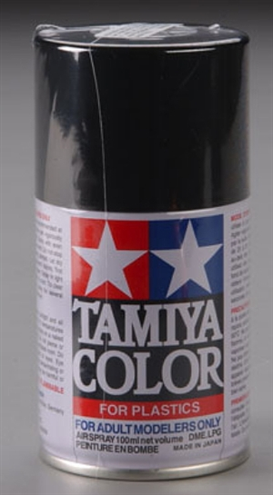 Tamiya Metallic Black Lacquer Spray