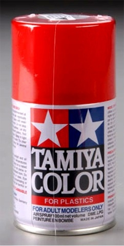 Tamiya Bright Red Lacquer Spray