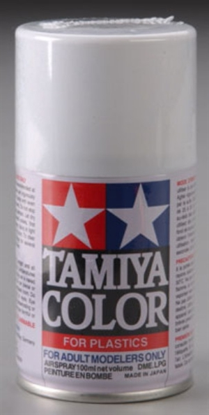 Tamiya Racing White Spray