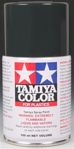 Tamiya Black Rubber Spray