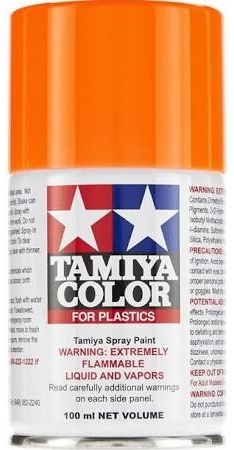 Tamiya Fluorescent Orange Lacquer Spray