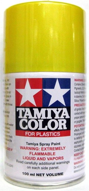 Tamiya Pearl Yellow Lacquer Spray