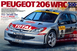 2001 Peugeot 206 WRC With Figures (1/24) (fs)