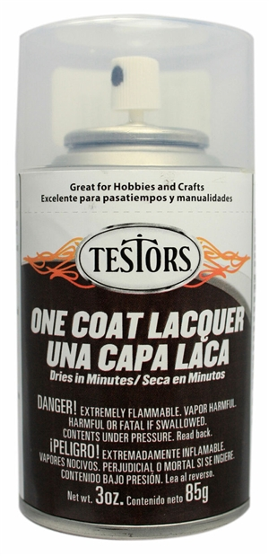 One Coat Spray Wet Look Clear Lacquer 3 oz