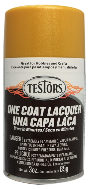 One Coat Spray Inca Gold Lacquer 3 oz