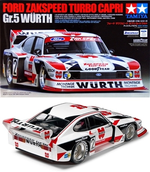 Ford Zakspeed Turbo Capri Gr.5 - Wurth (1/24) (fs)