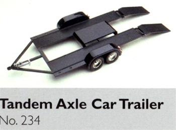 Tandem Axle Car Hauler Trailer 1 24 Fs