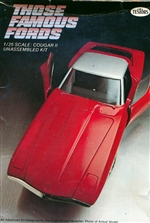 1963 Ford Cougar II Concept Show Car (1/25) (fs)