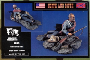 Verlinden Productions 'North and South' Confederate Scout (120mm) (fs)