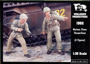 Verlinden Productions Marines Flame Thrower Team (1/35) (fs)