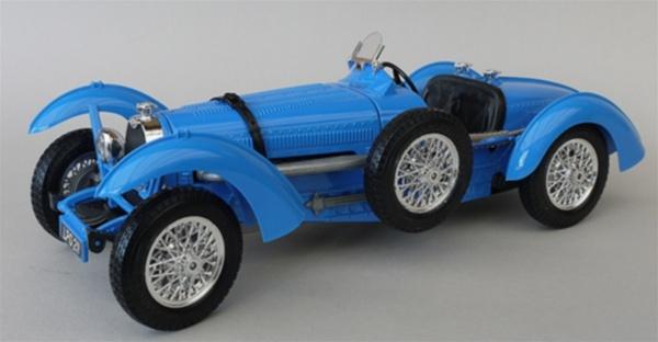 1934 Bugatti Type 59 Blue 1 18 Rare Diecast Fs