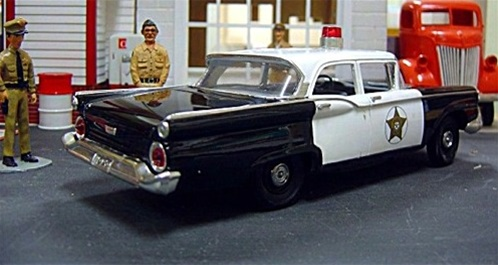 1959 Ford 4 Door Quot Mayberry Quot Police Car 1 25