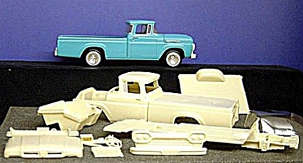Aftermarket Car Parts >> 1960 Ford F-100 Pickup (Resin Transkit) See More Info 1/25
