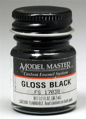 Gloss Black Enamel (1/2 oz Bottle)