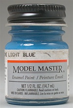Ford Engine Light Blue Enamel