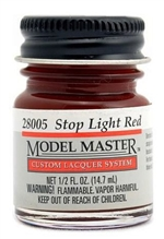 Stop Light Red Lacquer