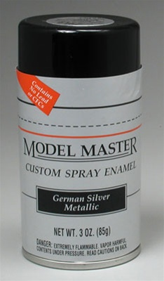 German Silver Metallic Enamel